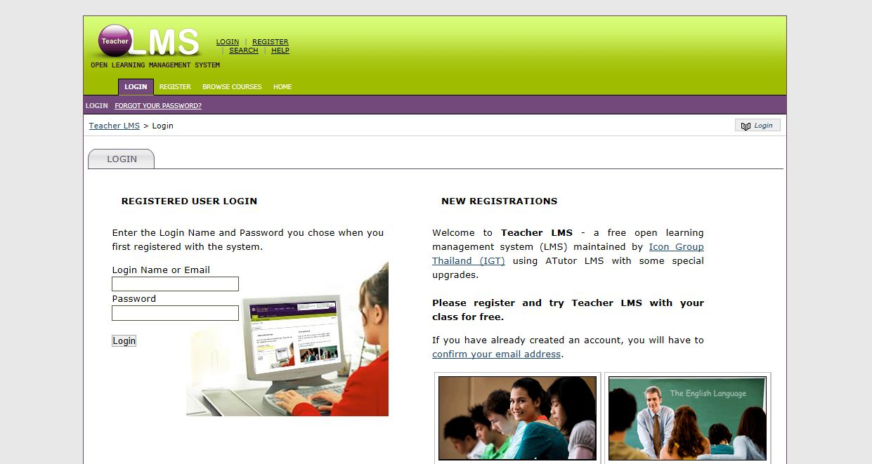 15 LMS Login Page Designs for Your Inspiration – Flirting
